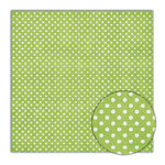 Sassafras Lass - Scrumptious Collection - 12x12 Paper - Green Apple