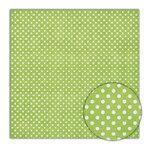 Sassafras Lass - Scrumptious Collection - 12x12 Paper - Green Apple