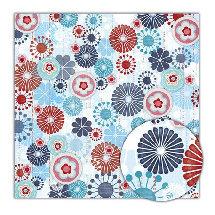 Sassafras Lass - Blue Boutique Collection - 12x12 Paper - Extravagent, CLEARANCE