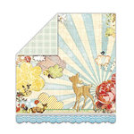 Sassafras Lass - My Dearest Collection - 12x13 Double Sided Paper - Fawnd of You
