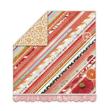 Sassafras Lass - My Dearest Collection - 12x13 Double Sided Paper - All My Heart, CLEARANCE