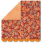 Sassafras Lass - Serendipity - Life at the Pole Collection - 12 x 12 Double Sided Paper - Mulberry Spice, CLEARANCE