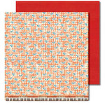 Sassafras Lass - Anthem Collection - 12x12 Double Sided Paper with Border Strip - Sing Loud, CLEARANCE