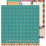 Sassafras Lass - Amplify Collection - 12 x 12 Double Sided Paper - Marvel