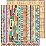 Sassafras Lass - Amplify Collection - 12 x 12 Double Sided Paper - Enhanced, CLEARANCE