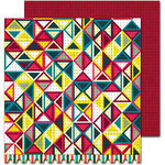 Sassafras Lass - Amplify Collection - 12 x 12 Double Sided Paper - Intensify
