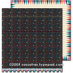 Sassafras Lass - Amplify Collection - 12 x 12 Double Sided Paper - Light Bright, CLEARANCE