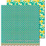 Sassafras Lass - Sweet Marmalade Collection - 12 x 12 Double Sided Paper - With Love, CLEARANCE
