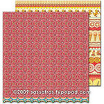 Sassafras Lass - Sweet Marmalade Collection - 12 x 12 Double Sided Paper - Sugary Sweet, CLEARANCE