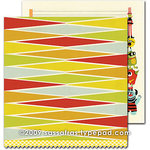 Sassafras Lass - Monstrosity Collection - 12 x 12 Double Sided Paper - Super Stack , CLEARANCE