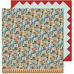 Sassafras Lass - Monstrosity Collection - 12 x 12 Double Sided Paper - Take Note