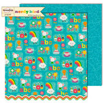 Sassafras Lass - Nerdy Bird Collection - 12 x 12 Double Sided Paper - Tea for Two
