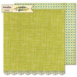 Sassafras Lass - Indie Girl Collection - 12 x 12 Double Sided Paper - Affection