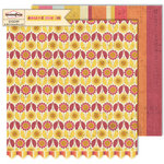 Sassafras Lass - Count Me In Collection - 12 x 12 Double Sided Paper - One By One