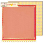 Sassafras Lass - Paper Crush Collection - 12 x 12 Double Sided Paper - Head Over Heels