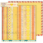 Sassafras Lass - Paper Crush Collection - 12 x 12 Double Sided Paper - Heartsick Cure
