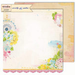 Sassafras Lass - Sweetly Smitten Collection - 12 x 12 Double Sided Paper - Penny's Penifore