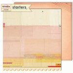 Sassafras Lass - Starters Collection - 12 x 12 Double Sided Paper - Line Up