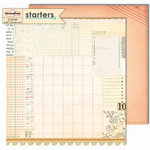 Sassafras Lass - Starters Collection - 12 x 12 Double Sided Paper - Intro