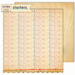 Sassafras Lass - Starters Collection - 12 x 12 Double Sided Paper - A…B…C…