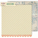 Sassafras Lass - Sunshine Broadcast Collection - 12 x 12 Double Sided Paper - Beaming