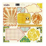 Sassafrass Lass - Life is Beautiful Collection - Journal Tag 12x12 Cardstock Stickers - Pocket Full of Rosies, CLEARANCE