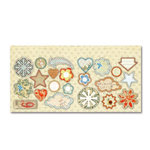 Sassafras Lass - Serendipity Collection - Woodland Whimsy - Cardstock Stickers - Sweet Treats, CLEARANCE