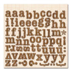 Sassafras Lass - Serendipity Collection - Fawnd of You Too - 12 x 12 Cardstock Stickers - Monograms, CLEARANCE