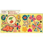 Sassafras Lass - Cherry Delicious Collection - Cardstock Stickers - Sweet Treats
