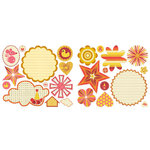 Sassafras Lass - Count Me In Collection - Cardstock Stickers - Sweet Treats