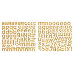Sassafras Lass - Cardstock Stickers - Mini Alphabet - Krafty