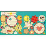 Sassafras Lass - Paper Crush Collection - Cardstock Stickers - Sweet Treats