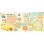 Sassafras Lass - Sunshine Broadcast Collection - Cardstock Stickers - Sweet Treats