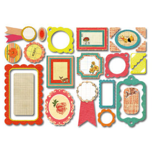 Sassafras Lass - Self Adhesive Chipboard Stickers - First Place, CLEARANCE