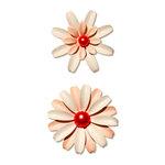 Sassafras Lass - Vintage Brooch - Soft Pinks