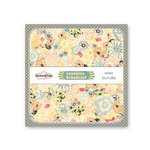 Sassafras Lass - Sunshine Broadcast Collection - Wee Bundle - 6 x 6 Paper Pad