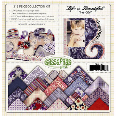 Sassafras Lass - Life is Beautiful Collection - Collection Kit - Felicity