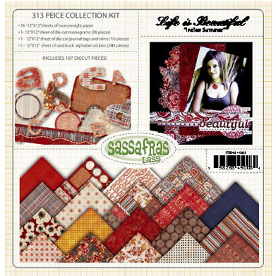 Sassafras Lass - Life is Beautiful Collection - Collection Kit - Indian Summer