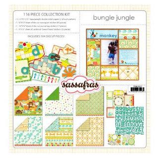 Sassafras Lass - Bungle Jungle Collection - Collection Kit