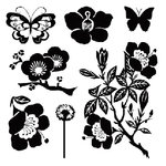 Sassafras Lass - Clear Stamp Sets - Freshly Picked, CLEARANCE