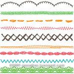 Sassafras Lass - Clear Acrylic Stamps - Stitchery