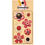 Sassafras Lass - In a Stitch - Blossoms - Pink, CLEARANCE