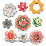 Sassafras Lass - In a Stitch Blossoms - Homegrown , CLEARANCE