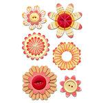 Sassafras Lass - Entwined Blooms - Rosey