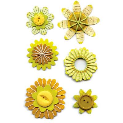 Sassafras Lass - Entwined Blooms - Tender Green