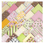 Sassafras Lass - I Want It All Pink! - Deluxe Paper and Embellishment Kit - 252 pieces, CLEARANCE