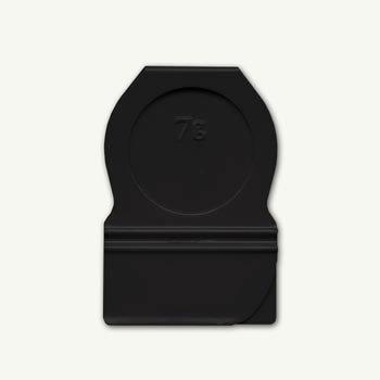 7 Gypsies - Metal Index Tabs - Black Circle, CLEARANCE