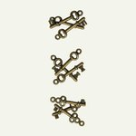 7 Gypsies - Mini Keys - 3 Designs - Brass