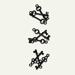 7 Gypsies - Mini Keys - 3 Designs - Black