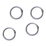 7 Gypsies - Custom Binding Rings - Small - Antique Silver